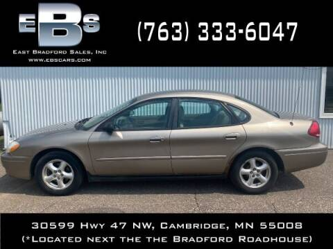 2005 Ford Taurus for sale at East Bradford Sales, Inc in Cambridge MN