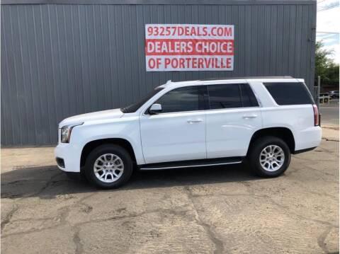 2017 GMC Yukon for sale at Dealers Choice Inc in Farmersville CA