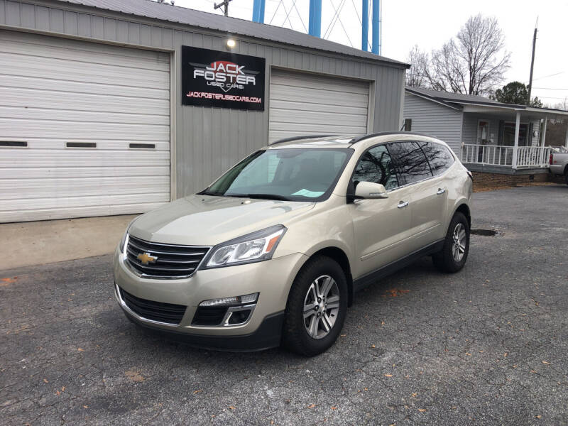 2016 Chevrolet Traverse for sale at Jack Foster Used Cars LLC in Honea Path SC