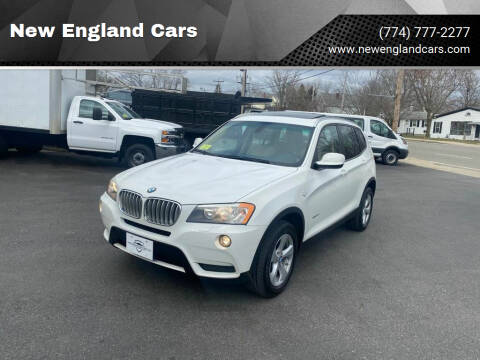 2011 BMW X3 for sale at New England Cars in Attleboro MA
