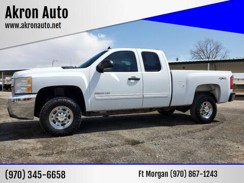 2010 Chevrolet Silverado 2500HD for sale at Akron Auto in Akron CO