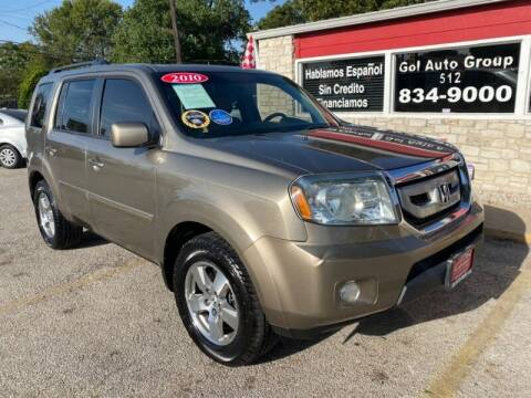 2010 Honda Pilot for sale at GOL Auto Group in Austin TX