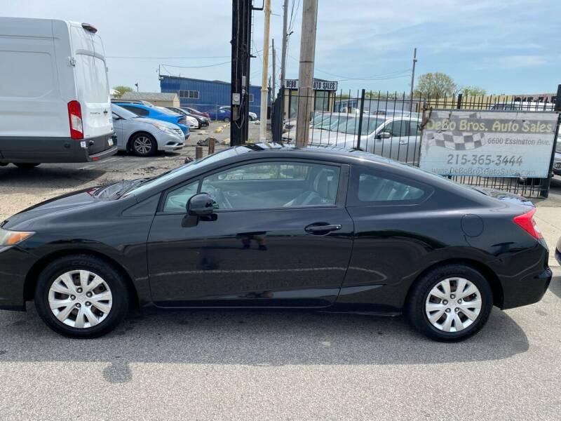 2012 Honda Civic for sale at Debo Bros Auto Sales in Philadelphia PA