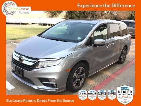 2018 Honda Odyssey for sale at Dallas Auto Finance in Dallas TX