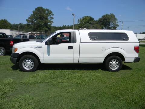 2013 Ford F-150 for sale at SeaCrest Sales, LLC in Elizabeth City NC