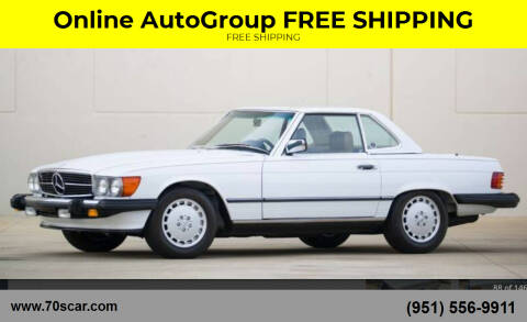 1987 Mercedes-Benz 560-Class for sale at Online AutoGroup FREE SHIPPING in Riverside CA