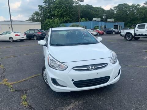 2017 Hyundai Accent for sale at M & J Auto Sales in Attleboro MA