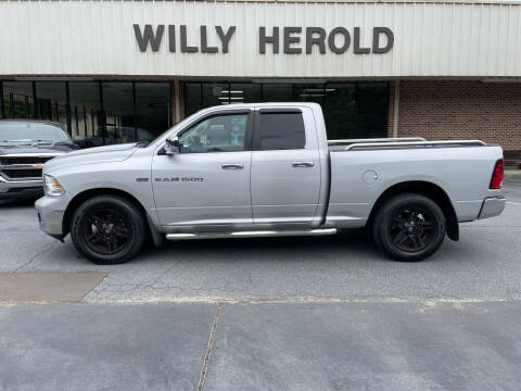 2012 RAM Ram Pickup 1500 for sale at Willy Herold Automotive in Columbus GA