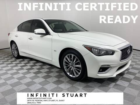 2018 Infiniti Q50 for sale at Infiniti Stuart in Stuart FL