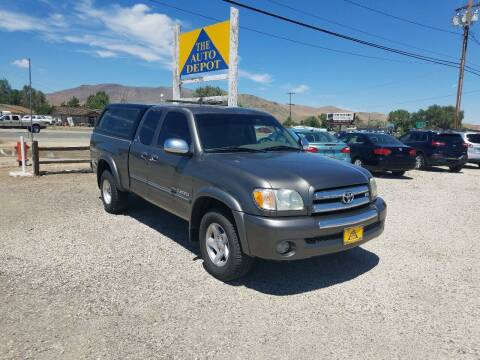 2003 Toyota Tundra for sale at Auto Depot in Carson City NV