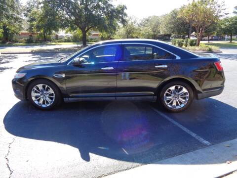 2011 Ford Taurus for sale at BALKCUM AUTO INC in Wilmington NC
