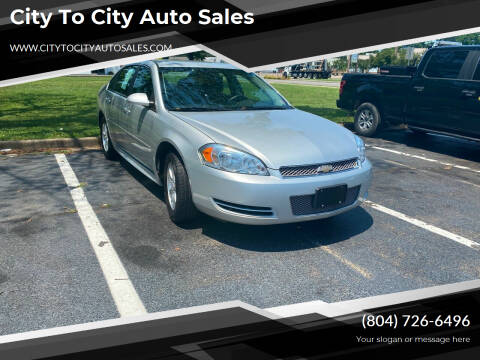 2014 Chevrolet Impala Limited for sale at City to City Auto Sales in Richmond VA
