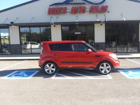 2010 Kia Soul for sale at DOUG'S AUTO SALES INC in Pleasant View TN