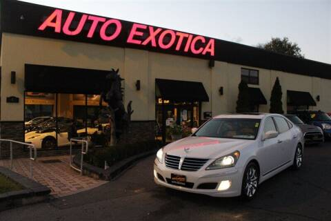 2013 Hyundai Equus for sale at Auto Exotica in Red Bank NJ