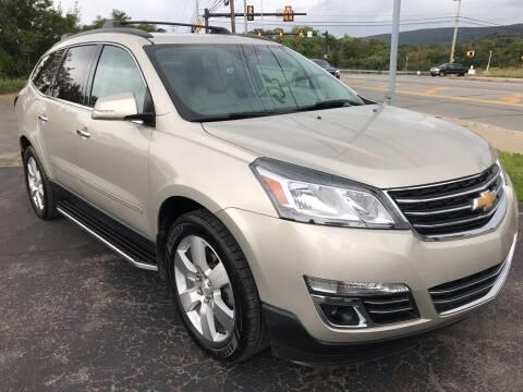2015 Chevrolet Traverse for sale at Rinaldi Auto Sales Inc in Taylor PA