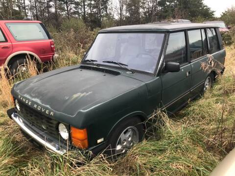 1994 Land Rover Range Rover for sale at FPAA in Fredericksburg VA
