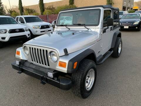 2002 Jeep Wrangler for sale at C. H. Auto Sales in Citrus Heights CA