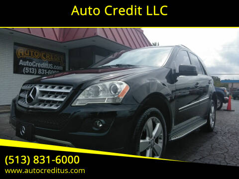 2011 Mercedes-Benz M-Class for sale at Auto Credit LLC in Milford OH