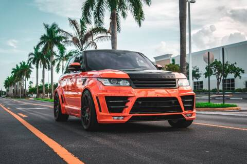 2016 Land Rover Range Rover Sport for sale at AUTOSPORT MOTORS in Lake Park FL
