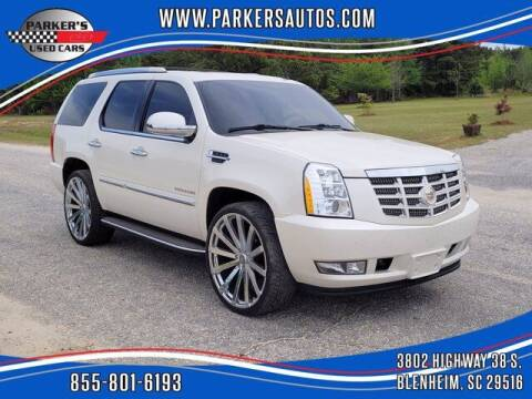 2014 Cadillac Escalade for sale at Parker's Used Cars in Blenheim SC