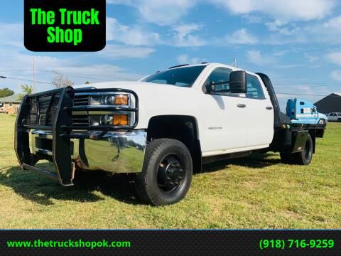 2015 Chevrolet Silverado 3500HD for sale at The Truck Shop in Okemah OK