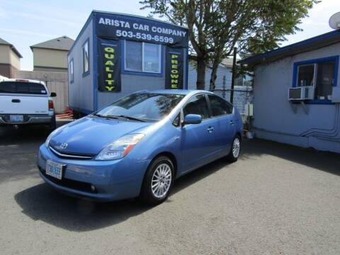 2008 Toyota Prius for sale at ARISTA CAR COMPANY LLC in Portland OR