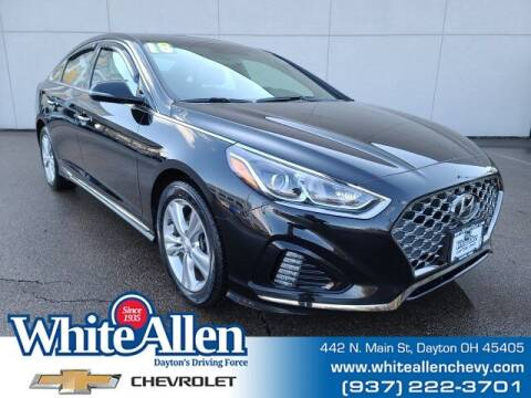 2018 Hyundai Sonata for sale at WHITE-ALLEN CHEVROLET in Dayton OH