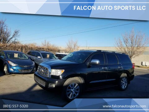 2008 Toyota Sequoia for sale at Falcon Auto Sports LLC in Murray UT