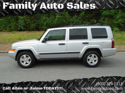 2006 Jeep Commander for sale at Family Auto Sales in Rock Hill SC