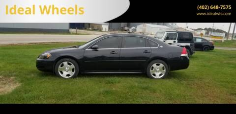 2008 Chevrolet Impala for sale at Ideal Wheels in Bancroft NE