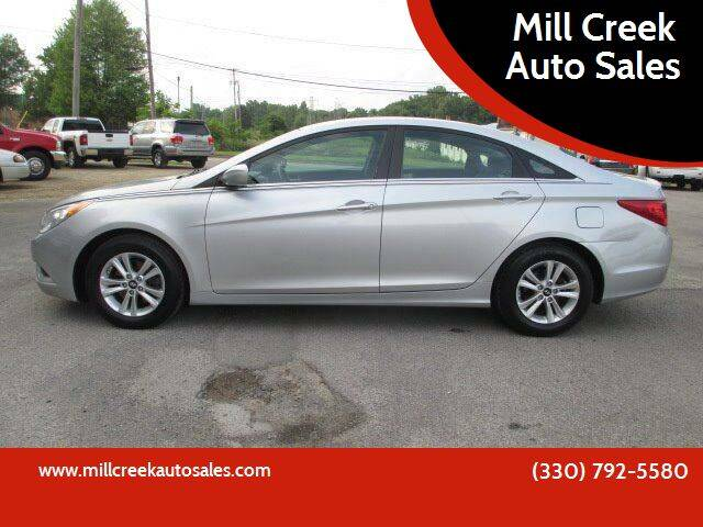 2013 Hyundai Sonata for sale at Mill Creek Auto Sales in Youngstown OH