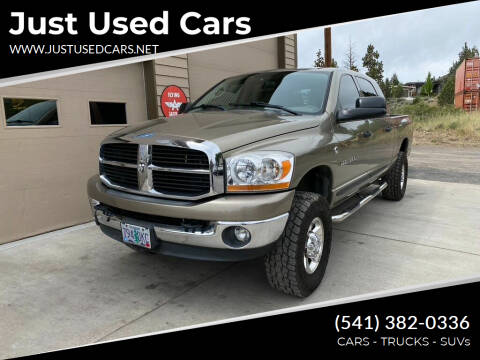 2006 Dodge Ram Pickup 3500 for sale at Just Used Cars in Bend OR