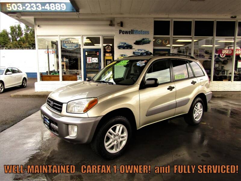 2002 Toyota RAV4 for sale at Powell Motors Inc in Portland OR