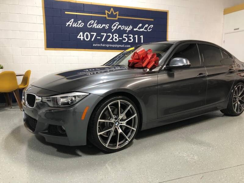 2015 BMW 3 Series for sale at Auto Chars Group LLC in Orlando FL