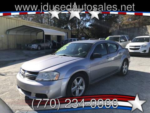 2013 Dodge Avenger for sale at J D USED AUTO SALES INC in Doraville GA