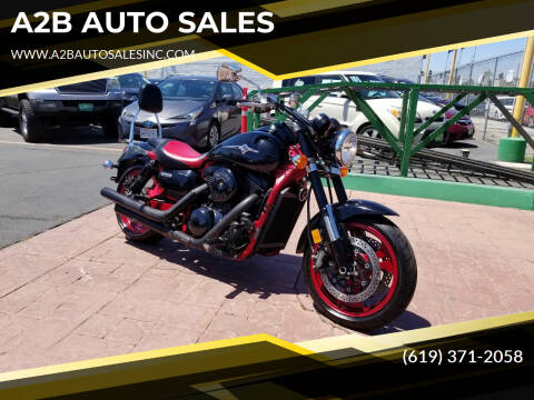 2008 Kawasaki VULCAN 1600 for sale at A2B AUTO SALES in Chula Vista CA