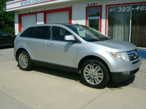 2009 Ford Edge for sale at Cedar Auto Sales in Lansing MI