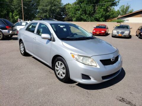2009 Toyota Corolla for sale at Progressive Auto Sales in Twin Falls ID