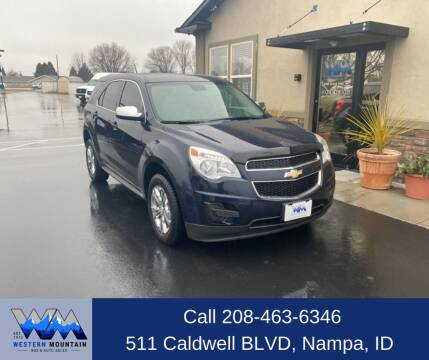 2015 Chevrolet Equinox for sale at Western Mountain Bus & Auto Sales in Nampa ID