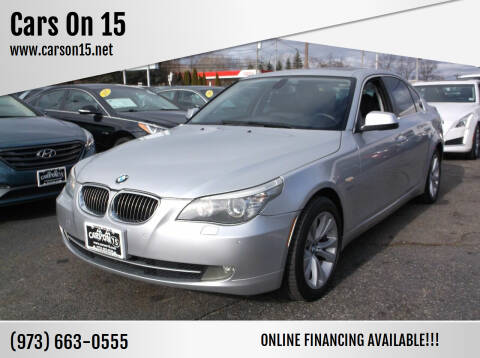 2010 BMW 5 Series for sale at Cars On 15 in Lake Hopatcong NJ