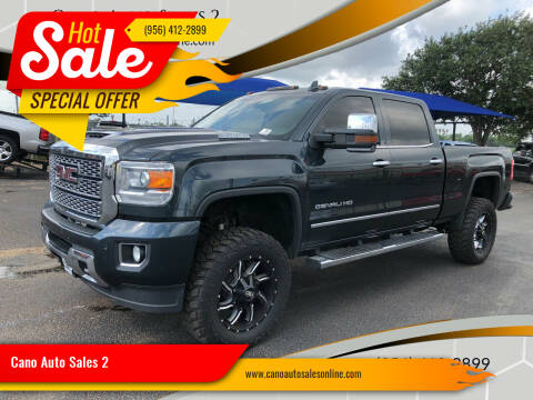 2019 GMC Sierra 2500HD for sale at Cano Auto Sales 2 in Harlingen TX