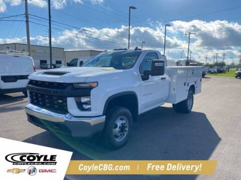 2022 Chevrolet Silverado 3500HD CC for sale at COYLE GM - COYLE NISSAN - New Inventory in Clarksville IN