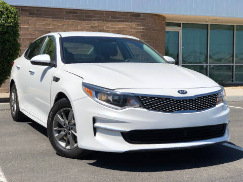 2017 Kia Optima for sale at AKOI Motors in Tempe AZ
