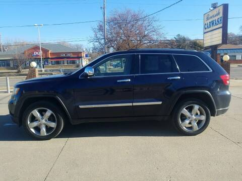 2013 Jeep Grand Cherokee for sale at RIVERSIDE AUTO SALES in Sioux City IA