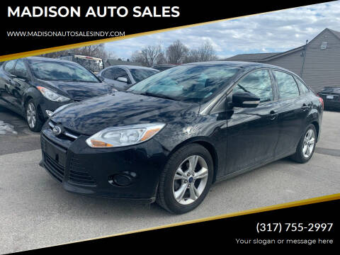 2014 Ford Focus for sale at MADISON AUTO SALES in Indianapolis IN