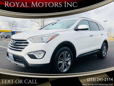 2016 Hyundai Santa Fe for sale at Royal Motors Inc in Kent WA