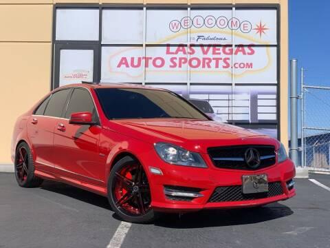 2012 Mercedes-Benz C-Class for sale at Las Vegas Auto Sports in Las Vegas NV