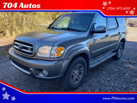 2003 Toyota Sequoia for sale at 704 Autos in Statesville NC