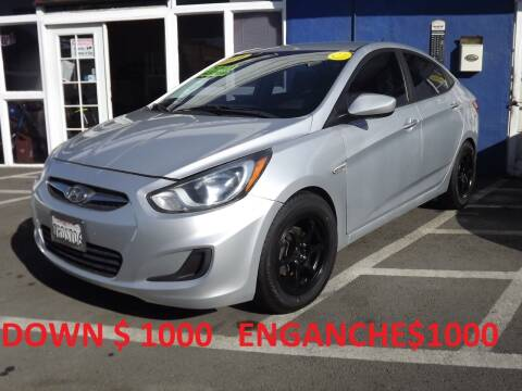 2014 Hyundai Accent for sale at PACIFICO AUTO SALES in Santa Ana CA