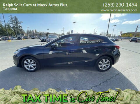 2016 Mazda MAZDA3 for sale at Ralph Sells Cars at Maxx Autos Plus Tacoma in Tacoma WA